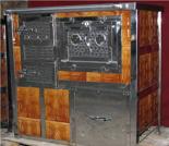 00350314 Kuchnia na węgiel z piekarnikiem 8kW z płaszczem wodnym