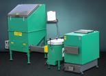 06653063 Automatyczny zestaw do spalania biomasy 1m3 230V 50kW, głowica: ceramiczna, bez systemu usuwania popiołu (paliwo: trociny, wióry, zrębki)