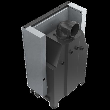 DOSTAWA GRATIS! 30053245 Wkład kominkowy 15kW MBO 15 Gilotyna (szyba prosta, drzwi podnoszone do góry) - spełnia anty-smogowy EkoProjekt