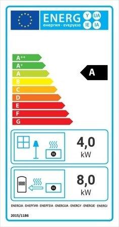 DOSTAWA GRATIS! 30060553 Wkład kominkowy 12kW Zuzia Deco z płaszczem wodnym, wężownicą (szyba prosta) - spełnia anty-smogowy EkoProjekt