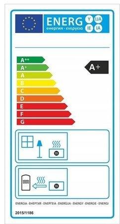 DOSTAWA GRATIS! 99672983 Piec wolnostojący 8kW (kolor: zielony) - spełnia anty-smogowy EkoProjekt