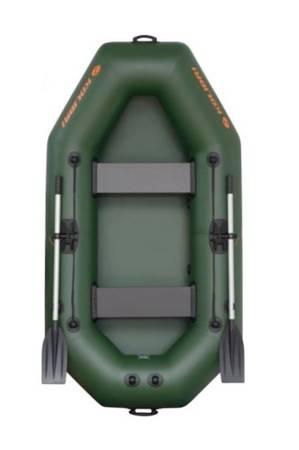 KOLAG Ponton turystyczno-wędkarski, 2 osób (dopuszczalne obciążenie: 216 kg, wymiary: 240x130 cm) 22678126