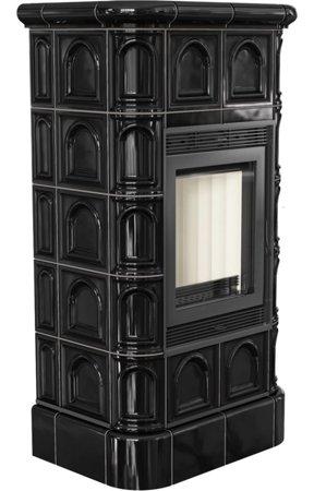 KONS Piec wolnostojący 8kW Blanka (kolor: kafel czarny) - spełnia anty-smogowy EkoProjekt 30065515