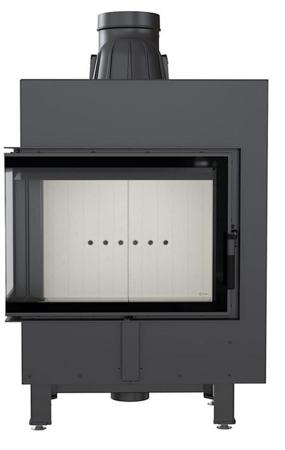 KONS Wkład kominkowy 12kW Lucy BS (lewa boczna szyba bez szprosa) - spełnia anty-smogowy EkoProjekt 30063873