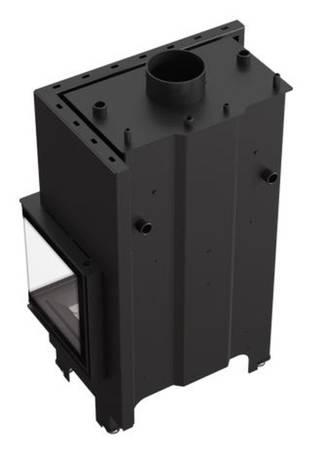 KONS Wkład kominkowy 12kW MBM PW BS z płaszczem wodnym, wężownicą (prawa boczna szyba bez szprosa) - spełnia anty-smogowy EkoProjekt 30066824