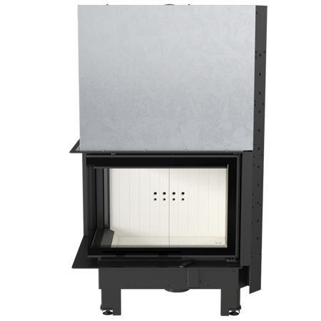 KONS Wkład kominkowy 13kW MBZ 13 BS Gilotyna (lewa boczna szyba bez szprosa, drzwi podnoszone) - spełnia anty-smogowy EkoProjekt 30053247