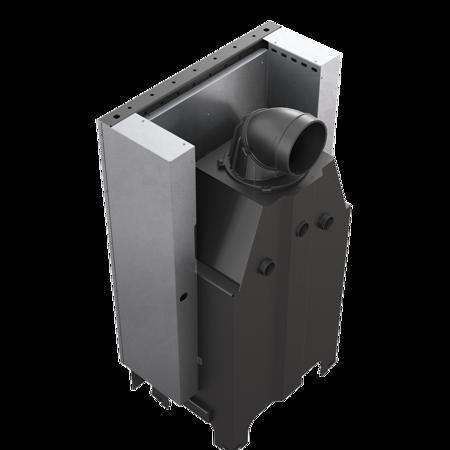 KONS Wkład kominkowy 13kW MBZ 13 Gilotyna (szyba prosta, drzwi podnoszone do góry) - spełnia anty-smogowy EkoProjekt 30053248