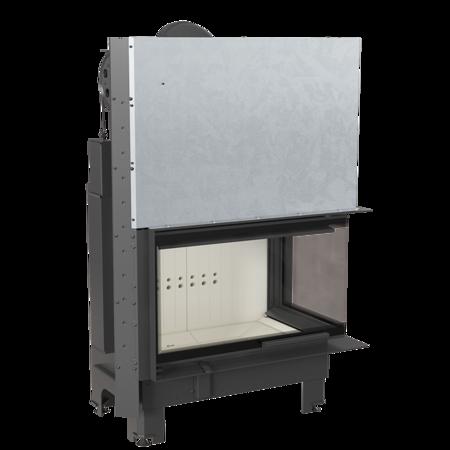 KONS Wkład kominkowy 15kW MBO 15 BS Gilotyna (prawa boczna szyba bez szprosa, drzwi podnoszone) - spełnia anty-smogowy EkoProjekt 30053242