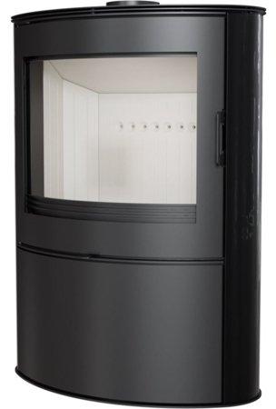 Piec wolnostojący koza 10kW AB (z panelami kaflowymi - czarny) - spełnia anty-smogowy EkoProjekt 30065534