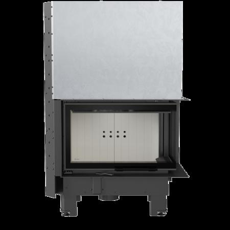 Wkład kominkowy 10kW MBM BS Gilotyna (prawa boczna szyba bez szprosa, drzwi podnoszone) - spełnia anty-smogowy EkoProjekt 30055014